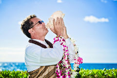 Hawaiian minister Royalty Free Stock Photography