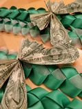 Hawaiian Money Lei royalty free stock image
