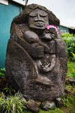 Hawaiian mother with child Royalty Free Stock Images