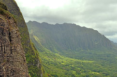 Hawaiian mountains Royalty Free Stock Images