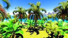 Hawaiian paradise Stock Photo