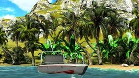 Hawaiian paradise Stock Images