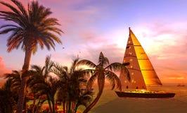 Hawaiian Paradise Stock Photography