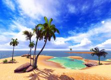 Hawaiian paradise Royalty Free Stock Photo
