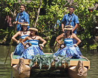 Hawaiian Performers Stock Image