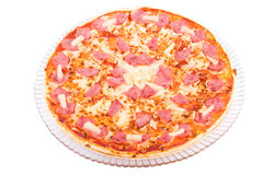 Hawaiian Pineapple Pizza Royalty Free Stock Image