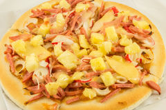 Hawaiian pizza Royalty Free Stock Images
