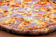 Hawaiian pizza, close-up Stock Photo