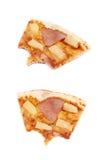 Hawaiian pizza composition isolated Stock Photos