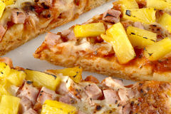 hawaiian pizza Stock Image
