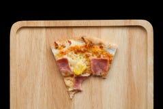 Hawaiian Pizza , pineapple , ham and cheese stock photography