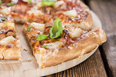 Hawaiian Pizza slices Royalty Free Stock Images