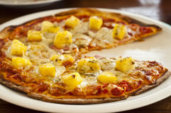 Hawaiian pizza. Stock Photography