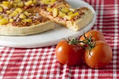 Hawaiian pizza Stock Photo