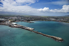 Hawaiian port. Stock Photography