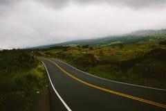 Hawaiian Road Stock Photo