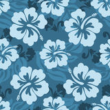 Hawaiian seamless pattern Stock Photo