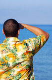 Hawaiian shirt Royalty Free Stock Image