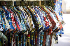 Hawaiian Shirts Stock Photography