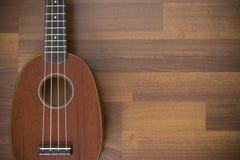 Hawaiian soprano ukulele Stock Images