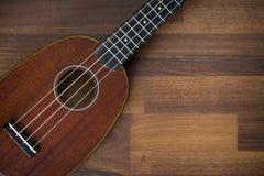 Hawaiian soprano ukulele Stock Photos