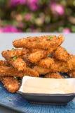 Hawaiian Spam Fries Stock Image