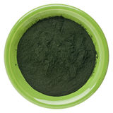 Hawaiian spirulina powder Royalty Free Stock Images