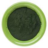 Hawaiian spirulina powder Royalty Free Stock Images