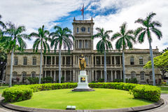 The Hawaiian State Supreme Court. In Downtown Honolulu Royalty Free Stock Photos