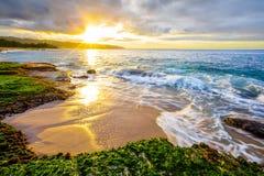 Hawaiian Sunset Stock Photos