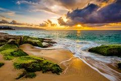 Hawaiian Sunset Stock Photography