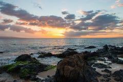 Hawaiian Sunset Royalty Free Stock Photography