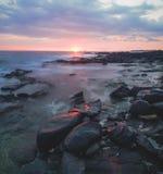Hawaiian Sunset Stock Images