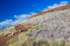 Hawaiian temple ruins Royalty Free Stock Images