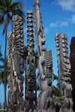 Hawaiian tikki Stock Photos