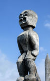 Hawaiian Totem Carving Stock Photography