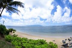 Hawaiian tropical beach Stock Photo