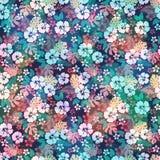 Hawaiian tropical floral seamless pattern. Royalty Free Stock Photos