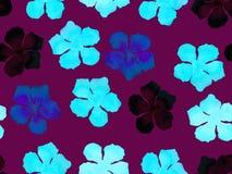 Hawaiian watercolor pattern. royalty free stock image