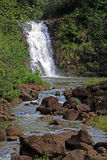 Hawaiian Waterfall Royalty Free Stock Image