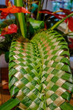 Hawaiian wicker craft work Royalty Free Stock Photography