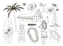 Hawaiibo Hawaii uppsättning Royaltyfria Foton