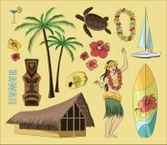 Hawaiibo Hawaii uppsättning Arkivfoton