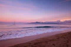 Hawaiin coast. Hawaiian coast line on Mauii near Kalapani Royalty Free Stock Image