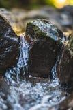 Hawaiische Flussfelsen lizenzfreies stockbild
