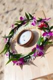 Hawaiische Hochzeitszeremonie Stockbild