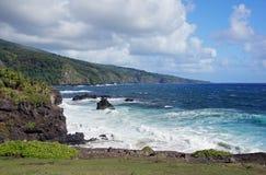 Hawaiische Küste, USA Lizenzfreies Stockfoto
