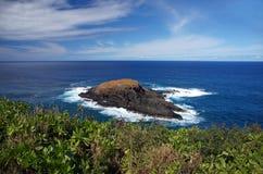 Hawaiische Küste, USA Stockbild