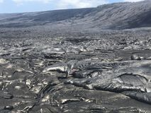 Hawaiische Lava Lizenzfreie Stockfotografie