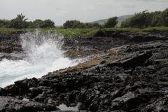 Hawaiische Lava Lizenzfreie Stockfotos